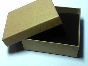 Поступление коробок 9х9х3, цвет крафт. Ярмарка Мастеров - ручная работа, handmade.