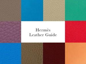 Виды кожи от модного дома Hermes. Ярмарка Мастеров - ручная работа, handmade.