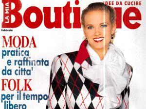Boutique Февраль 1994 г. Фото моделей. Ярмарка Мастеров - ручная работа, handmade.