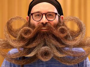 Кручу-верчу, бороду запутать хочу! 25 участников Мирового чемпионата по усам и бороде 2019. Ярмарка Мастеров - ручная работа, handmade.