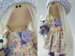 Бохо-брошка для куклы своими руками. Ярмарка Мастеров - ручная работа, handmade.