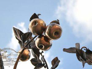Аукцион на кованое яблоко!. Ярмарка Мастеров - ручная работа, handmade.