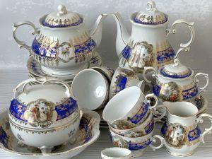 Знаменитый чайно-кофейный сервиз  «Мадонна». Ярмарка Мастеров - ручная работа, handmade.