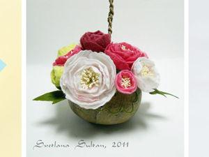 Вебинар  «Валяем цветок гвоздики». Ярмарка Мастеров - ручная работа, handmade.