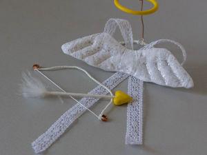 Мастер-класс по текстильной кукле «Ангел Амур». Часть 3. Ярмарка Мастеров - ручная работа, handmade.
