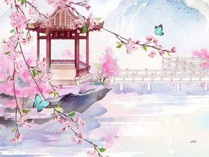 Немного вдохновения из китайской живописи. Ярмарка Мастеров - ручная работа, handmade.