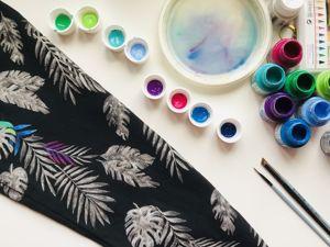12 советов по росписи одежды акриловыми красками. Ярмарка Мастеров - ручная работа, handmade.