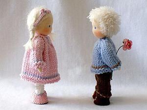Бесконечно нежная и милая вальдорфская кукла: первая в истории педагогическая игрушка. Ярмарка Мастеров - ручная работа, handmade.