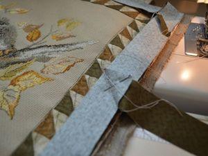 Шьём декоративную наволочку на молнии. Работа с бейкой. Ярмарка Мастеров - ручная работа, handmade.