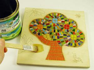 Делаем подставку под горячее с использованием смальты. Ярмарка Мастеров - ручная работа, handmade.