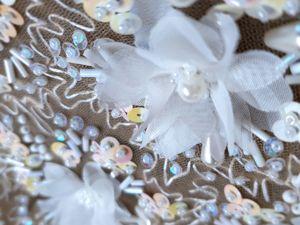 Декорируем платье ручной вышивкой. Ярмарка Мастеров - ручная работа, handmade.