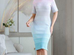 Аукцион на вязаное платье! Старт 2500 р.!. Ярмарка Мастеров - ручная работа, handmade.