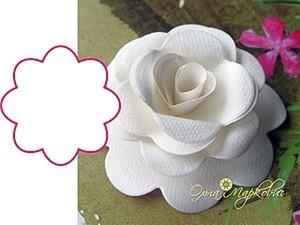 Мастер-класс по изготовлению розы из бумаги. Ярмарка Мастеров - ручная работа, handmade.