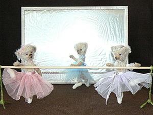 Мастер класс по мини-тедди. Создаем балеринку.. Ярмарка Мастеров - ручная работа, handmade.
