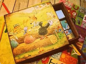 """МК Винтажные кубики """"Детство"""". Ярмарка Мастеров - ручная работа, handmade."""