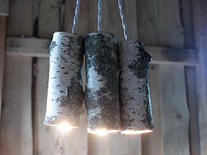 Как сделать березовый светильник. Часть 1. Ярмарка Мастеров - ручная работа, handmade.