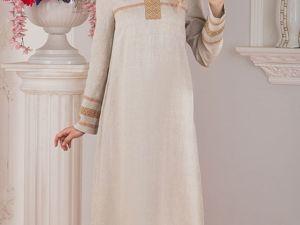 Платье Льняное Истоки. Ярмарка Мастеров - ручная работа, handmade.