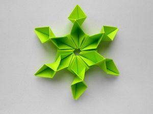 Собираем красивый цветок из бумаги. Ярмарка Мастеров - ручная работа, handmade.