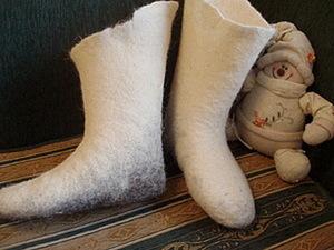 Как сделать комфортные валенки с ортопедическим уклоном. Ярмарка Мастеров - ручная работа, handmade.