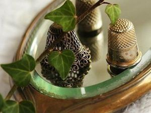 Put a Thimble in Your Pocket, Just for Good Luck!. Livemaster - handmade
