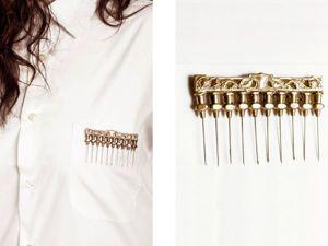Жутко или красиво? Необычные украшения от дизайнеров Remedios Vincent и Kate Ferris. Ярмарка Мастеров - ручная работа, handmade.