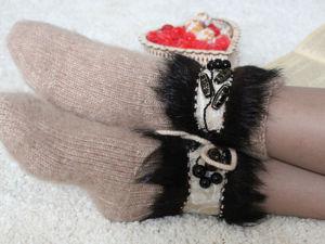 Накладные украшения на носки и варежки. Ярмарка Мастеров - ручная работа, handmade.