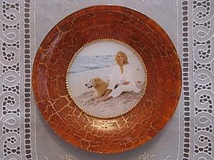 Мастер-класс: декоративная тарелочка «Гармония». Ярмарка Мастеров - ручная работа, handmade.