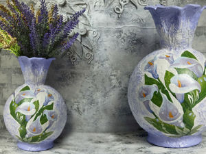Video Tutorial: Creating Decorative Vase. Livemaster - handmade