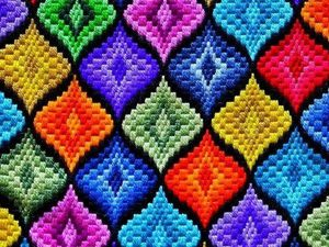 Bargello. Are You Sure This Is the Florentine Embroidery?! Part one. Livemaster - handmade