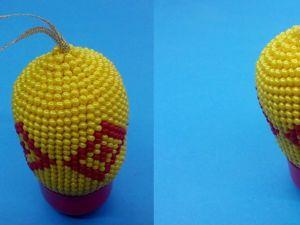 Вяжем бисером брелок и елочную игрушку «Ромбы»: видео мастер-класс. Ярмарка Мастеров - ручная работа, handmade.