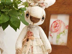 Шьем платье для игрушки в стиле Тедди. Ярмарка Мастеров - ручная работа, handmade.