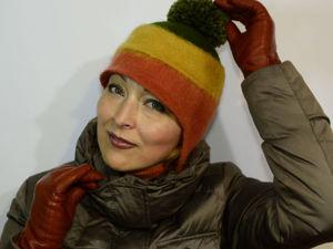 Мастер-класс: валяем интересную шапочку. Часть 1. Ярмарка Мастеров - ручная работа, handmade.
