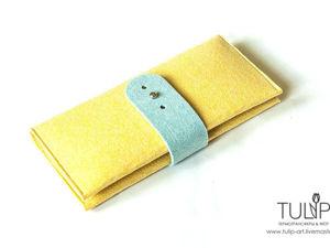 Шьем вместительный холдер-кошелек из одной детали. Ярмарка Мастеров - ручная работа, handmade.