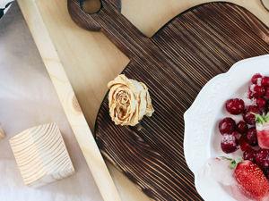 Как выбрать и ухаживать за деревянной сервировочной доской для подачи блюд?. Ярмарка Мастеров - ручная работа, handmade.