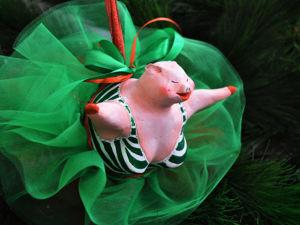 Создаем елочную игрушку Сонечку — Воздушную Гимнастку, или исполнение мечты!. Ярмарка Мастеров - ручная работа, handmade.