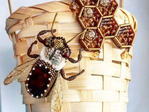 Завершен. Аукцион  «мЕдовые пчелы» . 11- 13 марта. Ярмарка Мастеров - ручная работа, handmade.