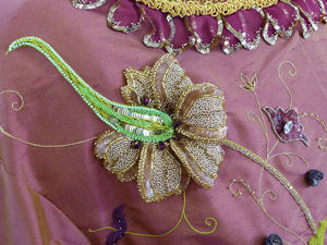 Прекрасная мастерица Caroline Gamb и ее школа вышивания Broderie d'art. Ярмарка Мастеров - ручная работа, handmade.
