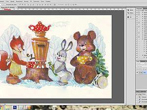 Создание нужного размера картинки для декупажных работ в программе Photoshop cs6. Ярмарка Мастеров - ручная работа, handmade.