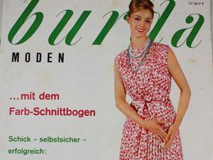 Burda moden 7/1960 Бурда Моден. Ярмарка Мастеров - ручная работа, handmade.
