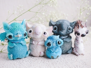Alien Invasion Of Cuteness: 25+ Unusual Creatures By Anna Nazarenko. Livemaster - handmade