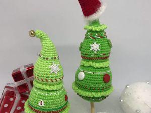Создаем новогоднюю ёлочку. Ярмарка Мастеров - ручная работа, handmade.