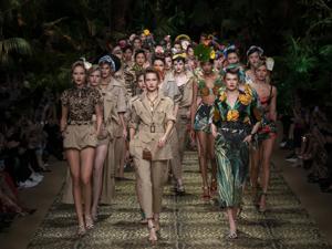 40 нарядов сицилийских джунглей из новой коллекции Dolce & Gabbana Ready-to-Wear 2020. Ярмарка Мастеров - ручная работа, handmade.