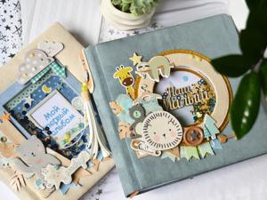 Альбомы для новорожденных. Ярмарка Мастеров - ручная работа, handmade.