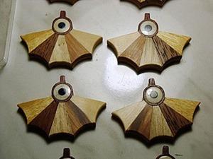 Cоздание комплекта ювелирных украшений «Летучая мышь». Ярмарка Мастеров - ручная работа, handmade.