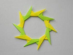 Собираем из бумаги модульную звезду. Уроки оринами. Ярмарка Мастеров - ручная работа, handmade.
