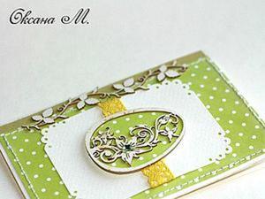 Создаем милую пасхальную открытку. Ярмарка Мастеров - ручная работа, handmade.