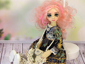 Видео о создании куклы «Веснушки». Ярмарка Мастеров - ручная работа, handmade.
