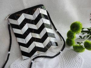 Нарядные черные и белые сумочки в нашем магазине. Ярмарка Мастеров - ручная работа, handmade.