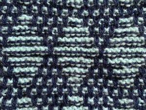 Ленивый Жаккард: разбор узора  «ромбы»  спицами. Ярмарка Мастеров - ручная работа, handmade.