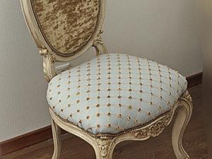 Обивка стула: пошаговый мастер-класс. Ярмарка Мастеров - ручная работа, handmade.